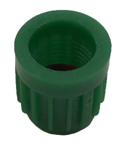1000 VC8 Green Plastic Tire Valve Stem Caps /& Seal Car N2 Nitrogen Wheel TPMS
