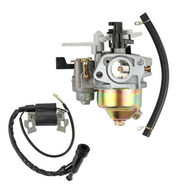 Carburetor Carb Kit Ignition Coil for HONDA GCV160 5.5HP//6.5HP Engine Lawn Mower