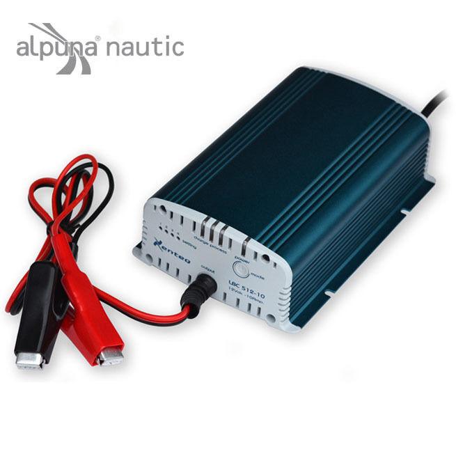 Xenteq LBC512-10 Batterieladegerät 12V 10A Blei Akku Batterielader Lader Batterielader Akku 0f8609