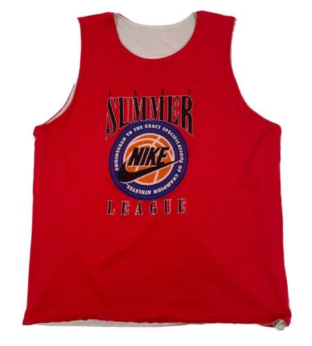 vtg 1993 Nike Summer League *RARE* HTF Reversible