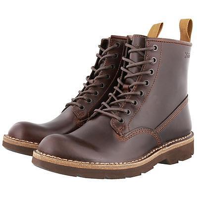 Herrenschuhe True 10.5 Clarks Mens ** Norton Mellor Rise ** Brown Biker Boots Lea ** Uk 10