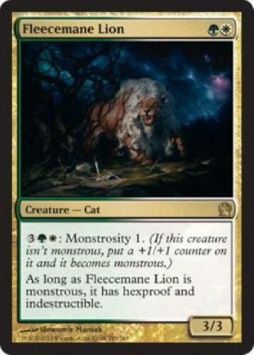 2x Fleecemane Lion new Theros Single MTG