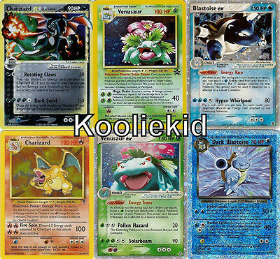 Pre EX Lv X RARES Second GENERATION Pokemon Card Sets HOLOS PROMOS Cards