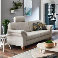 Artikel 4 Sofa Borkum 3 Sitzer 3er Couch In Stoff Natur Mit Federkern 186  Cm Landhausstil  Sofa Borkum 3 Sitzer 3er Couch In Stoff Natur Mit  Federkern 186 ...