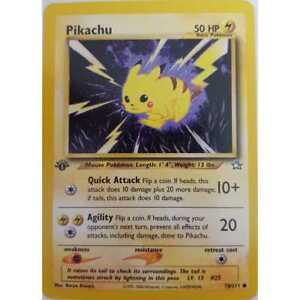 Pokemon-Pikachu-70-111-1-Edition-Neo-Genesis-Englisch-NM-Mint