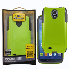 New! OtterBox Commuter Series Phone Case For Samsung Galaxy S4 Lime Green