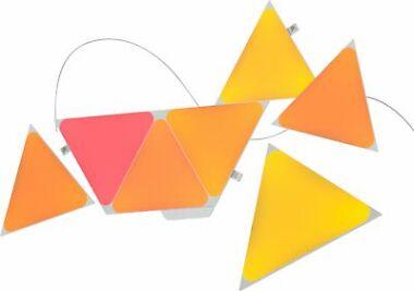Nanoleaf Shapes Triangles 7-Panel Smart LED Multicolor Lighting Kit