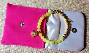 Rustic-cuff-fashion-bracelet-Shannon-Yellow-With-Gold-Frog-Charm