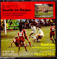 """Super 8 Film - """" Duelle im Regen - Fußball WM 1974 """" - Piccolo Film"""