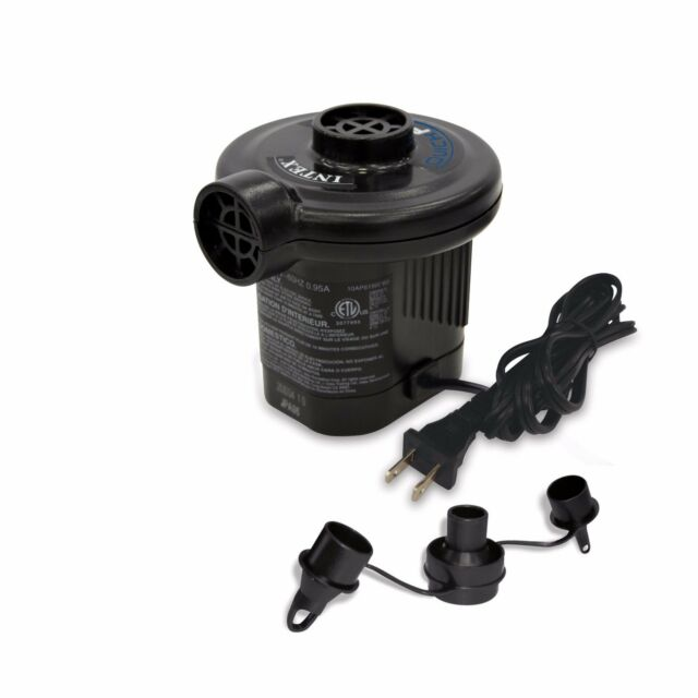 Pompa elettrica gonfia sgonfia gonfiabili presa corrente 220 V Intex 66620