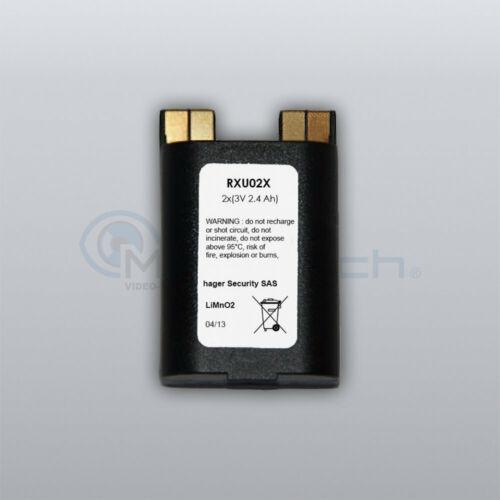 2,4 Ah Lithium-Batterie 2 x 3 V RXU02X Original Daitem Atral