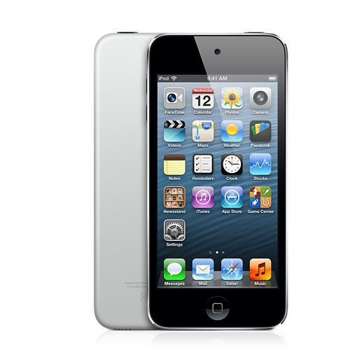1 of 1 - Apple iPod touch 5th Generation (Mid 2013) black/Silver (16GB)