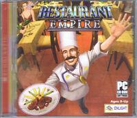 Restaurant Empire (pc, 2003, Enlight Interactive)