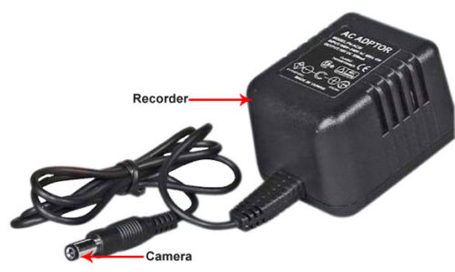 NEW Wall Power DVR Cord Camera Motion Time Stamp AC Adapter Lawmate PV-AC30