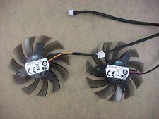 75mm Twin Frozr Dual Fan For Gigabyte GTX465 GTX460 3Pin 40mm 0.30A 3019