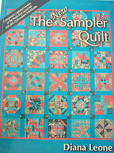 The New Sampler Quilt Pattern Craft Instruction Book Leone