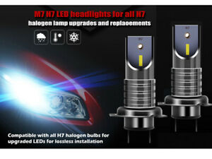 2X-H7-LED-110W-6000K-anti-erreur-Ampoule-Voiture-Feux-Phare-Lampe-Xenon-Blanc