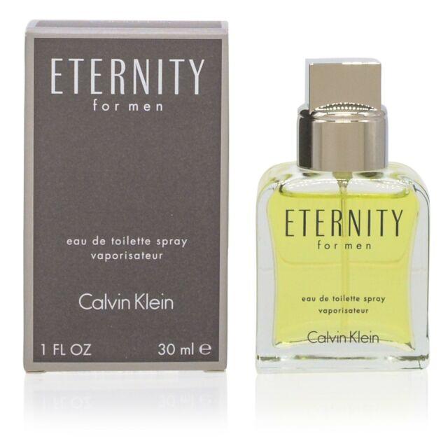 Eternity For Men 30ml Calvin Klein Eau De Toilette Spray For Sale Online Ebay