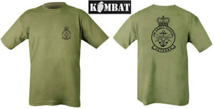 Mens-Military-Kombat-Tactical-HM-Armed-Forces-Veteran-Army-T-shirt-Olive-Green