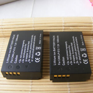 2x-LP-E12-Battery-1200mAh-for-Canon-EOS-100D-EOS-M50-Digital-Camera