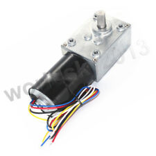 Dc12v 24v Brushless Dc Motor Turbo Worm Speed Reduction Gear Motor With Gearbox