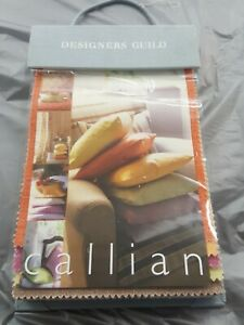Designers-Guild-fabric-sample-book-100-cotton-Callian-free-ship-35-swatches