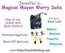 Magical Mayan Guatemalan Worry Dolls for Good Luck Money Love Health Success Sex
