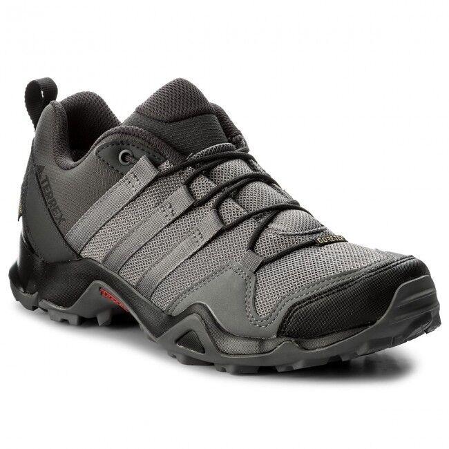 Sautope trekre uomo Adidas Terrex Swift AX2R GTX CM7718 GrigioNero Goretex