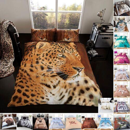 DESIGNER PRINTED BEDDINGS BEDROOM FLORAL DUVET QUILT COVER SHEET PILLOW CASE SET