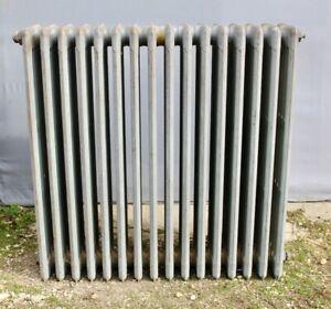 Lot de 6 radiateurs en fonte anciens