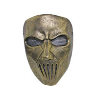 Paintball Airsoft Wire Mesh Full Face Protection Slipknot Mick Mask L1022
