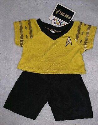 Build A Bear Star Trek Spock Blue Uniform Retired 2016 NWT