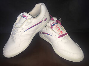 L-A-Gear-Court-Flash-1990-UK-4-5-NIB-NOS-vintage-ORIGINAL-sneakers-superstar