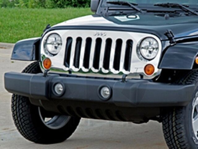 07-15 Jeep Wrangler New Chrome Grille Exact Production Mopar Factory Oem