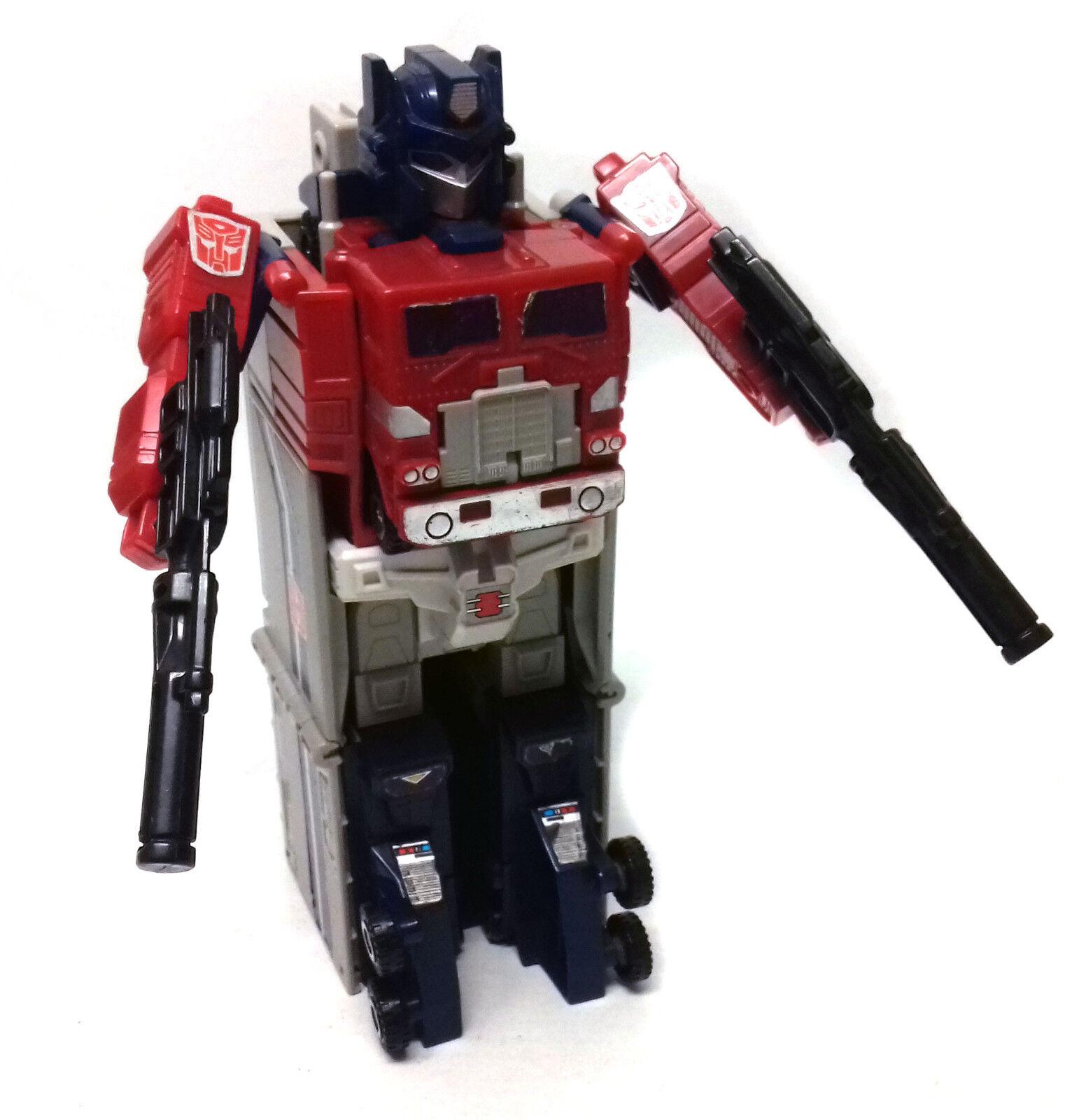 Vintage Transformers G1 Optimus Prime Figura de juguete de maestro de energía CAMIÓN, algunas partes