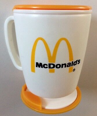 McDonald's Whirley Vintage 1983 Ronald McDonald Sippy Cup Coffee Cup