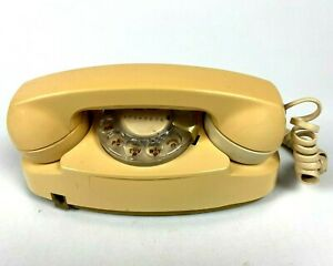 VINTAGE-Western-Electric-The-Princess-Rotary-Dial-Desk-Telephone-Bell-System