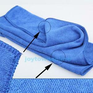 Large-Car-Auto-Microfiber-Cloths-Cleaning-Towel-Wash-Drying-Cleaner-Blue-30X70CM