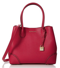 6d4507792de465 item 2 Michael Kors NWT Mercer Corner Center Zip Tote Bright Red Leather  Crossbody -Michael Kors NWT Mercer Corner Center Zip Tote Bright Red Leather  ...