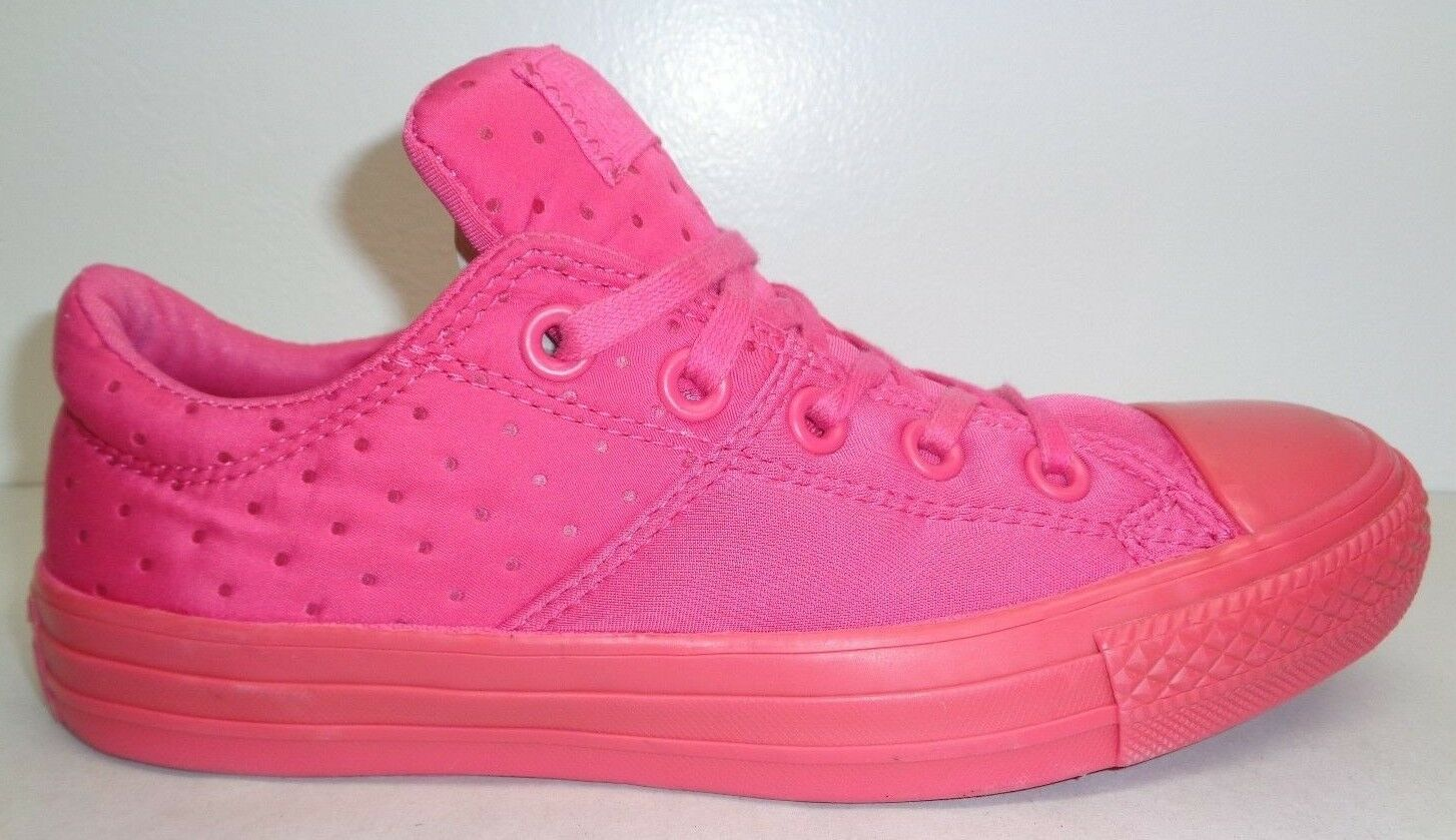 Converse All Star Size 7.5 MADISON Vivid Pink Fashion Sneakers New Womens Shoes