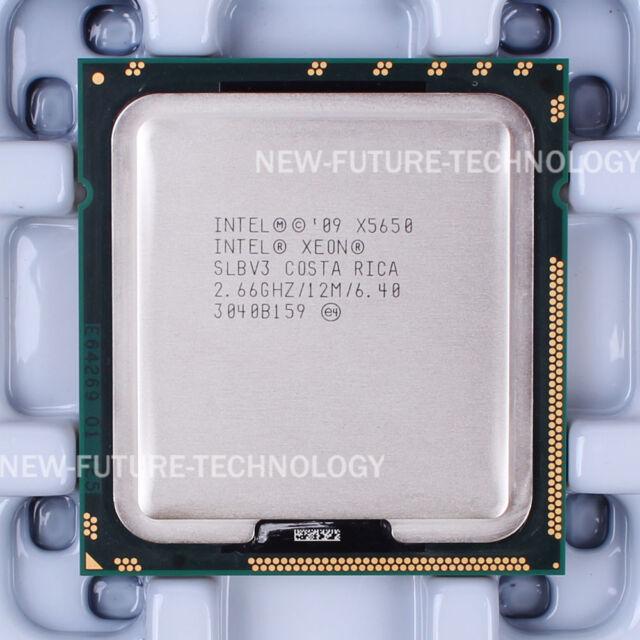 Intel Xeon X5650 (AT80614004320AD) SLBV3 CPU 2.66GHz/3200MHZ LGA 1366 100% Work