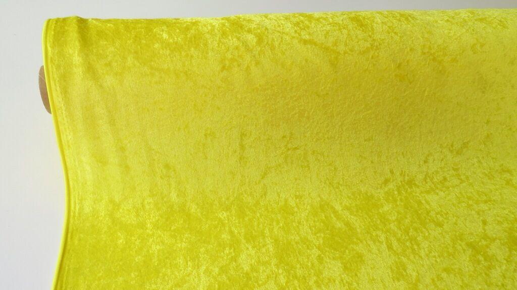 SAMT PANNESAMT 150cm   25mtr  gelb