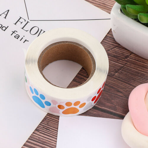Label Sealing Bottle Tags Print Sticker Marker Pen Labels Stickers Colorful Paw
