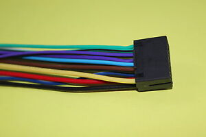 Wire Harness for Kenwood KDC-352U KIV-BT900 KMM-108U KMM-BT315U KMM-BT312U  #S | eBayeBay