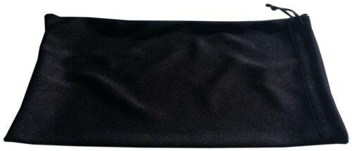 Qty 24 Ski Goggle Pouch Black Microfiber Soft Bag Goggles Pouches Winter Sports