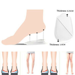 Heel Foot Cushion/&Pad 3/&4 Insole Shoe pad For Vogue Women Orthotic Arch SuppODUS