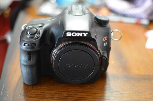 1 of 1 - Sony Alpha SLT-A57 16.1 MP Digital SLR Camera - Black (Body Only)