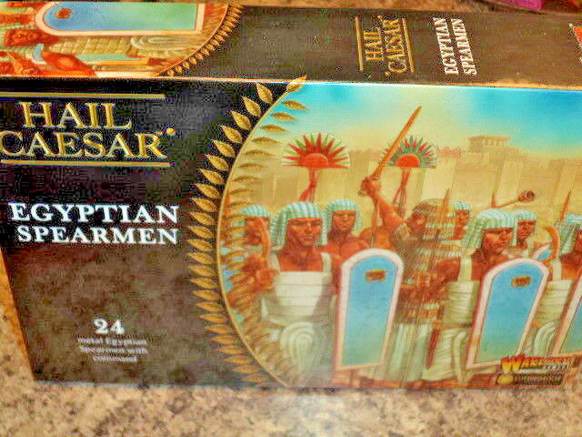 Egyptian Spearmen Hail Caesar War Gaming Warlord Games Models New