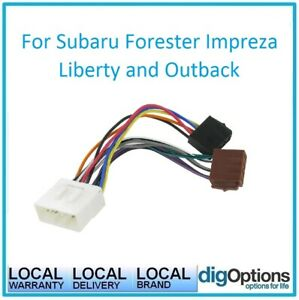Details about *Aerpro Wiring Harness - ISO Connector for Subaru WRX, on