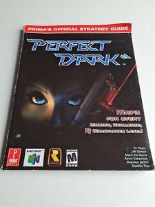 Perfect Dark Guía De Estrategia Oficial Prima Games n64